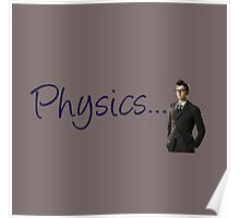 Doctor who 10th doctor- physics  Poster