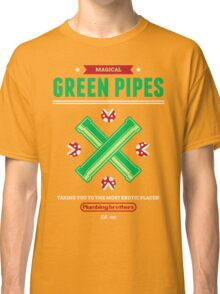 Green Pipes Classic T-Shirt