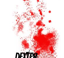 Dexter- blood splatter by lizie2205