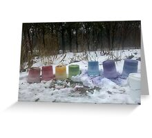 Tie Dye Rainbow Greeting Card