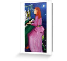 Vincent Van Gogh's Girlfriend Greeting Card