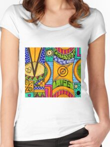 Living a VIBRANT Life Women's Fitted Scoop T-Shirt
