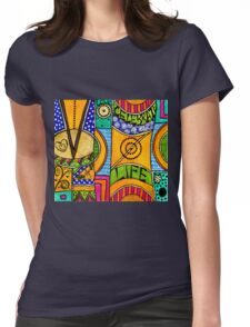 Living a VIBRANT Life Womens Fitted T-Shirt