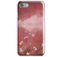 Butterflies rain iPhone Case/Skin