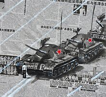 Tank Man of Tiananmen by Jamie Alexander