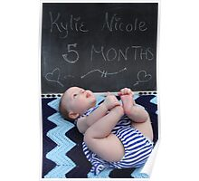 Five Months Old Poster