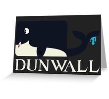 Dunwall poster Greeting Card