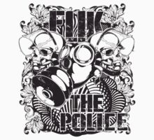 F the police by tshirt-factory