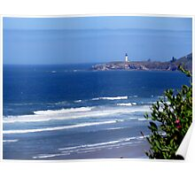Yaquina Head Lighthouse. Newport, Oregon Poster