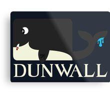 Dunwall poster Metal Print