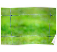 fenced in Poster