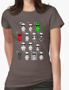The Stig & His Cousins Womens Fitted T-Shirt