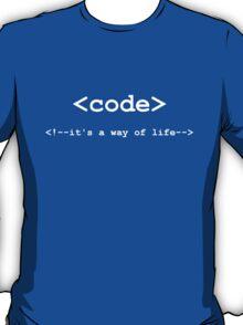 Code - Way of Life T-Shirt