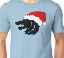 Christmas Wolf Unisex T-Shirt