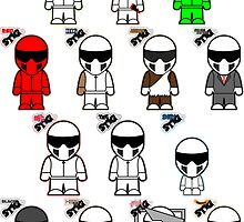The Stig & His Cousins by jimcwood