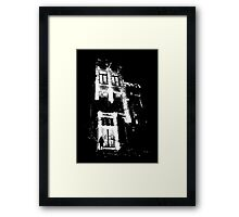 The door is open and the lights are on...  Urban TSHIRT Framed Print
