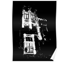 The door is open and the lights are on...  Urban TSHIRT Poster