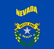 Smartphone Case - State Flag of Nevada - Horizontal II by Mark Podger