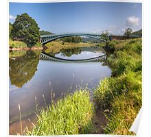 The River Wye at Bigsweir Poster