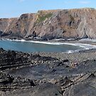 Hartland Quay Panoramic view by Paul  Green