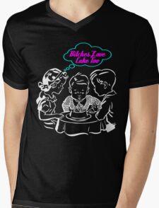 Bitched Love Cake Mens V-Neck T-Shirt