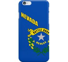 Iphone Case - State Flag of Nevada - Abstract iPhone Case/Skin