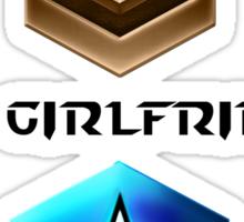 StarCraft Girlfriend Sticker