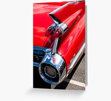 Cadillac Fin Greeting Card
