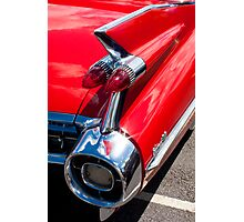 Cadillac Fin Photographic Print
