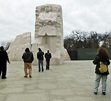 Martin Luther King Memorial, Washington D.C. by Bine