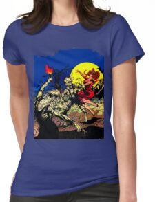Party at Ground Zero Womens Fitted T-Shirt