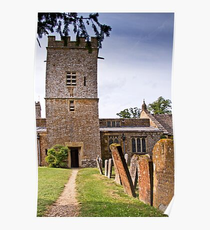 St Mary's Church, Chastleton Poster