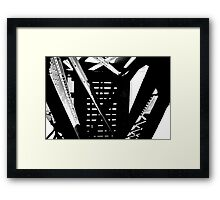 The Ride Above Framed Print