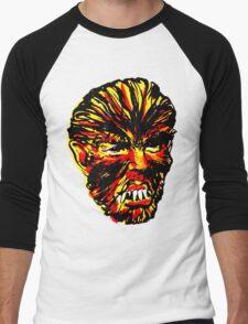 WOLF HEAD Men's Baseball ¾ T-Shirt