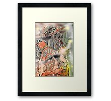 Steampunk Monday [Light version] Framed Print