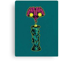 I is for Intergalactic Intelligence  Canvas Print