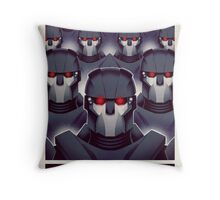 FIGHTING THE MUTANT THREAT!  Throw Pillow