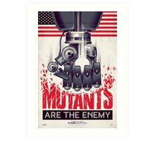 FIGHT THE MUTANTS! SUPPORT TRASK INDUSTRIES!  Art Print