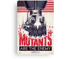 FIGHT THE MUTANTS! SUPPORT TRASK INDUSTRIES!  Canvas Print