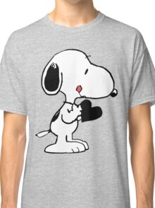 Snoopy's heart  Classic T-Shirt
