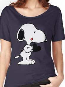 Snoopy's heart  Women's Relaxed Fit T-Shirt