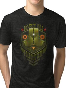 Kaiju Hunter Cherno Tri-blend T-Shirt