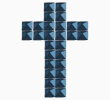 Studded Cross by ItsVaneDani