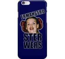 ERMAHGERD STER WERS iPhone Case/Skin
