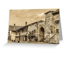 Yvoire - France Greeting Card