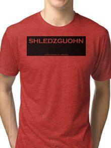 Shledzguohn Tri-blend T-Shirt