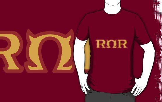 Roar Omega Roar Shirt by Merwok