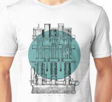 Machinery diagram Unisex T-Shirt