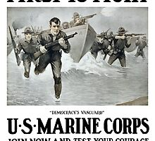 First To Fight -- US Marine Corps by warishellstore