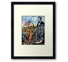 Liberty And Freedom Shall Not Perish -- True Sons Of Freedom Framed Print